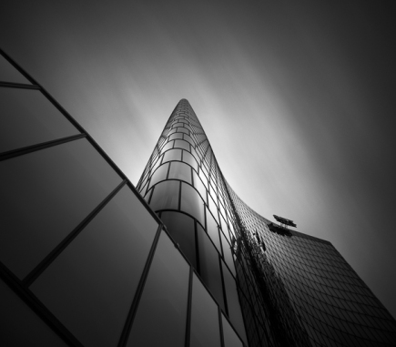 OMV Headquarters II, Vienna - B&W Architecture Fine Art Series