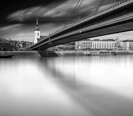 St. Martin's Cathedral, Bratislava - B&W Architecture Fine Art Series