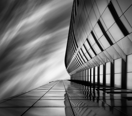 City Shapes II, Vienna - B&W Architecture Fine Art Series