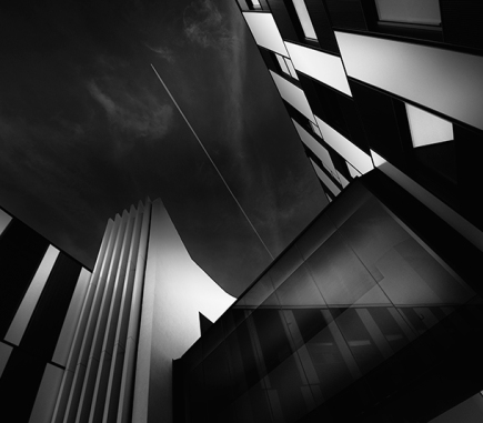 Vienna University of Economics and Business IV - B&W Architecture Fine Art Series