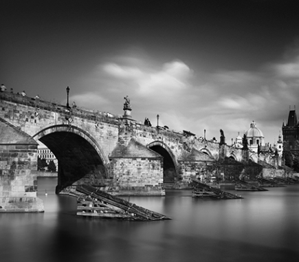 Charles Bridge, Prague - B&W Architecture Fine Art Series