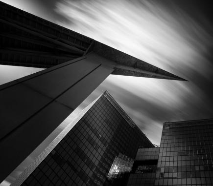 Twin City, Vienna - B&W Architecture Fine Art Series
