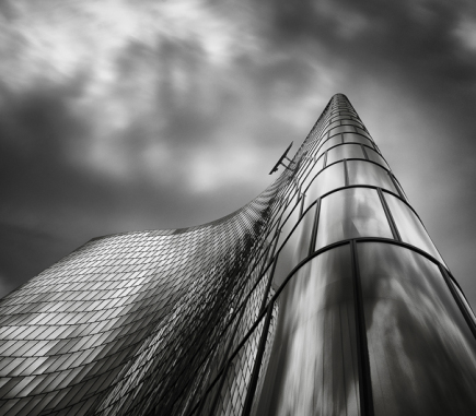 OMV Headquarters, Vienna - B&W Architecture Fine Art Series