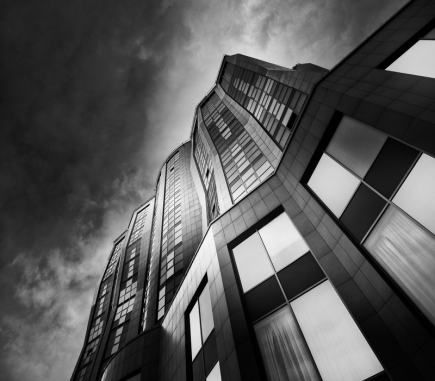 Double Tree Hotel by Hilton, Bratislava - B&W Architecture Fine Art Series
