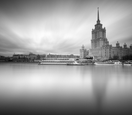 Radisson Royal Hotel, Moscow - B&W Architecture Fine Art Series