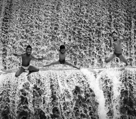 Jump to Unda River, Bali - B&W People Fine Art Series