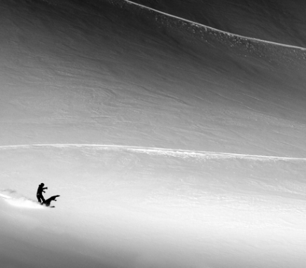 Kitzsteinhorn, Austria - B&W People Fine Art Series