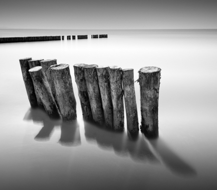 Solitude II, Italy - B&W Landscapes - Seascapes Fine Art Series