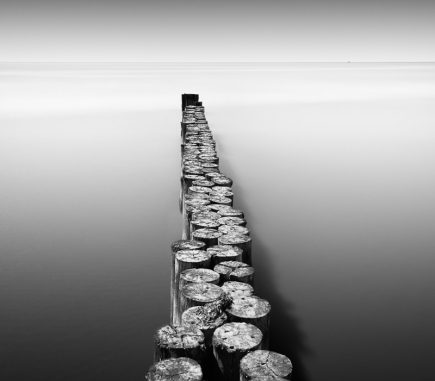 Solitude, Italy - B&W Landscapes - Seascapes Fine Art Series