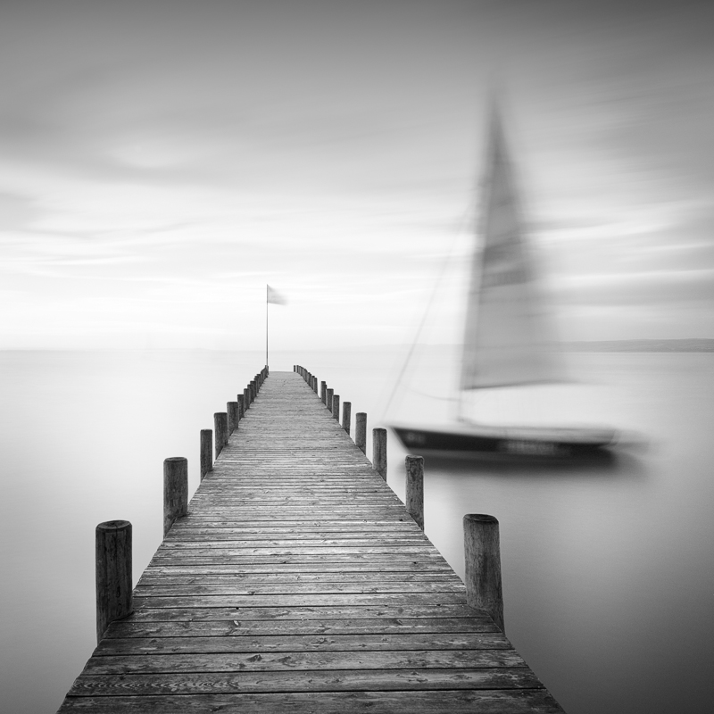 Lost neusiedler am see austria bw landscapes seascapes fine art series