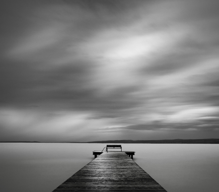 Before the Storm - B&W Landscapes - Seascapes Fine Art Series