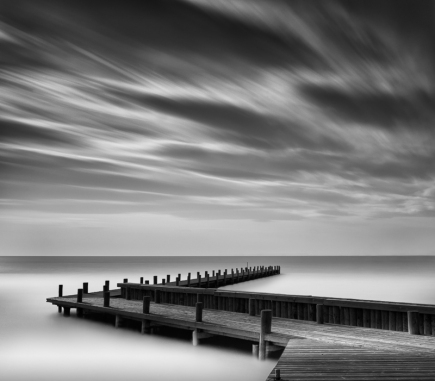 Direction, Austria - B&W Landscapes - Seascapes Fine Art Series