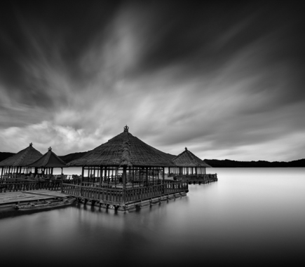 Batur Lake, Bali - B&W Landscapes - Seascapes Fine Art Series