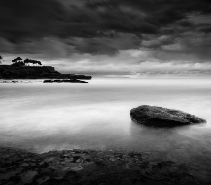 Tanah Lot II, Bali - B&W Landscapes - Seascapes Fine Art Series