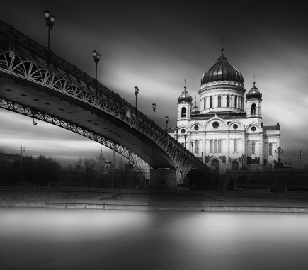 Cathedral of Christ the Saviour, Moscow - B&W Architecture Fine Art Series