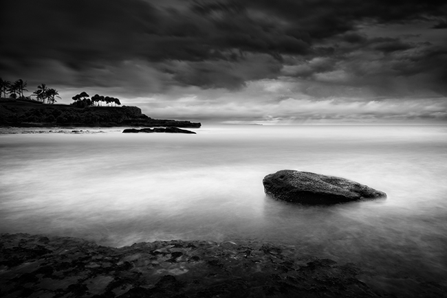 How to calculate the exposure time seascapes