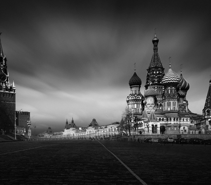 Saint Basil's Cathedral, Moscow - B&W Architecture Fine Art Series