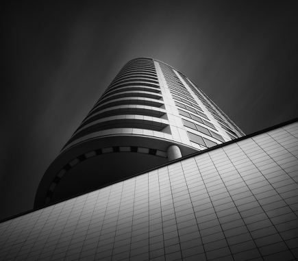 Three Towers Project, Bratislava - B&W Architecture Fine Art Series
