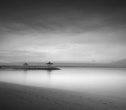 Jimbaran Beach, Bali - B&W Landscapes - Seascapes Fine Art Series