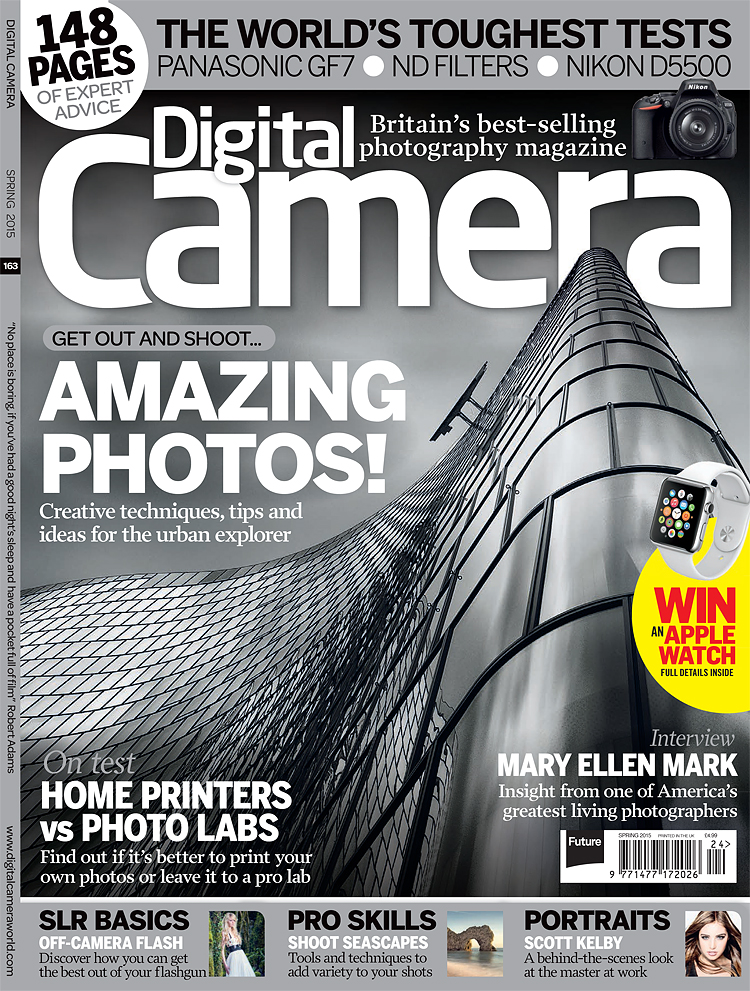 Digital Camera World Matej Michalik Cover