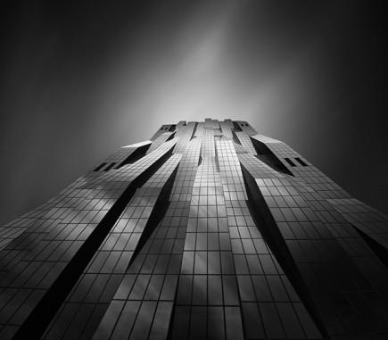 DC Tower II, Vienna - B&W Architecture Fine Art Series