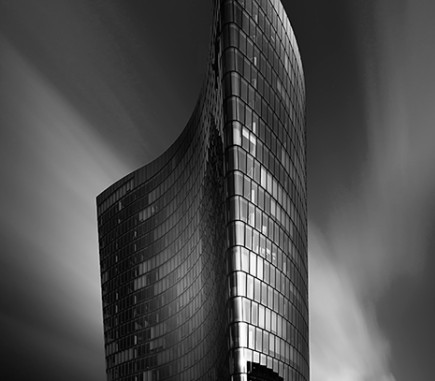 Flagship, OMV Headquarters, Vienna - B&W Architecture Fine Art Series