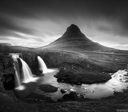 Kirkjufell Mountain, Iceland - B&W Seascapes/Landscapes Fine Art Series