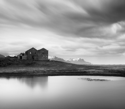 Somewhere in Iceland, B&W Seascapes/Landscapes Fine Art Series