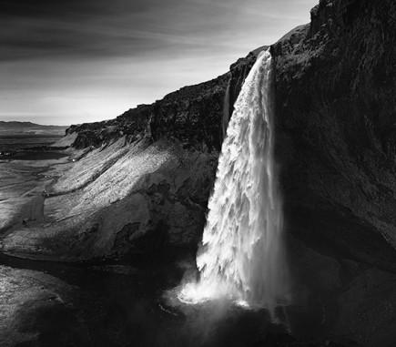 Seljalandsfoss, Iceland - B&W Seascapes/Landscapes Fine Art Series