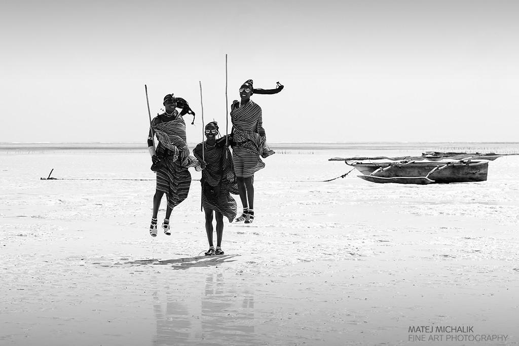 Traditional Maasai Jump, Zanzibar