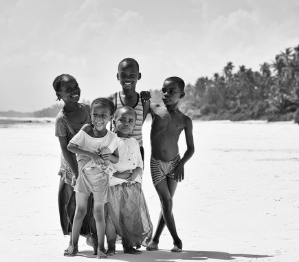 Children of Zanzibar - B&W People Fine Art Series