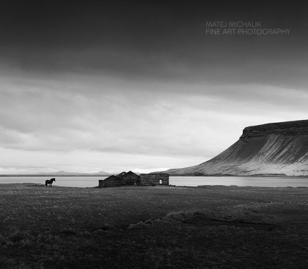 Somewhere in Iceland II - B&W Seascapes/Landscapes Fine Art Series