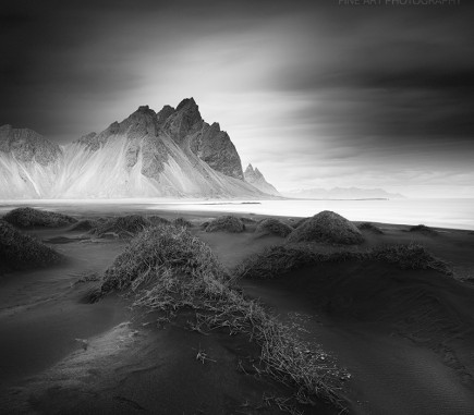 Stokksness, Iceland - B&W Seascapes/Landscapes Fine Art Series
