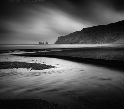 Reynisdrangar, Iceland - B&W Seascapes/Landscapes Fine Art Series