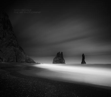 Reynisfjara Beach, Iceland - B&W Seascapes/Landscapes Fine Art Series