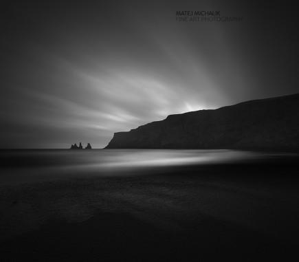 Reynisdrangar II, Iceland - B&W Seascapes/Landscapes Fine Art Series